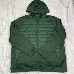 New Nike Therma Synthetic Full Zip Training Jacket